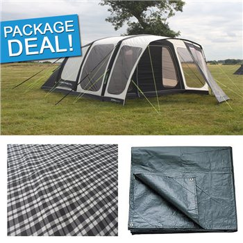 Outdoor Revolution Inspiral 5 Air Tent Package Deal 2017  - Click to view a larger image