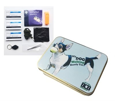 BCB Adventure My Dog Walking Handy Tin