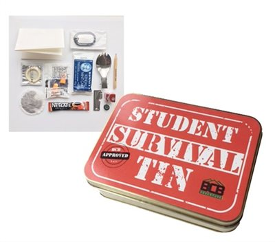 BCB Adventure Student Survival Tin  - Click to view a larger image