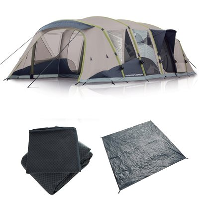 Zempire Aero TXL Polycotton Air Tent Package Deal 2018  - Click to view a larger image