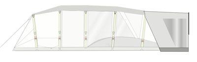 Zempire Aero T Polycotton Wing Canopy 2018 - Aero TXL Canopy