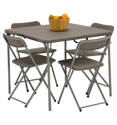 4df5e887bc Buy cheap Folding dining table and chairs - compare Sheds & Garden ...