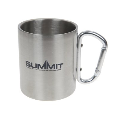 Summit Stainless Steel Carabiner Mug 2018  - Click to view a larger image