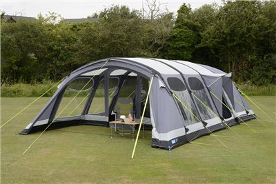 K&a Studland 8 Air Pro Tent 2019 - Click to view a larger image & Kampa Studland 8 Air Pro Tent 2019 | CampingWorld.co.uk