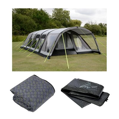 Kampa Studland 8 Classic Air Pro Tent Package Deal 2019  - Click to view a larger image
