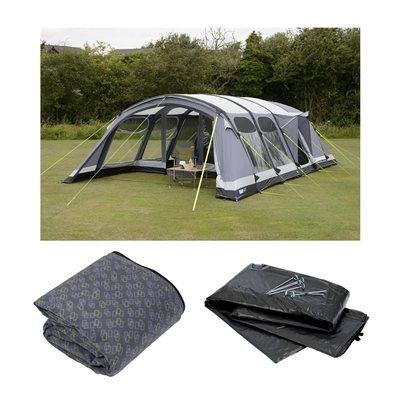 Kampa Studland 8 Air Pro Tent Package Deal 2019  - Click to view a larger image