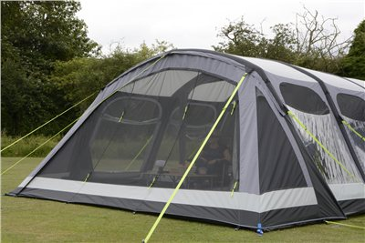 Kampa Dometic Hayling 6 Air Pro Mesh Vestibule 2020  - Click to view a larger image