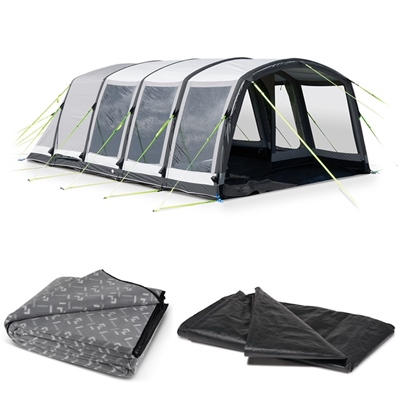Kampa Hayling 6 Classic Air Pro Tent Package Deal 2019  - Click to view a larger image