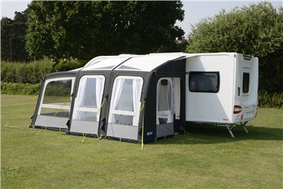 Kampa Rally AIR Pro 260 Plus Caravan Awning 2019  - Click to view a larger image