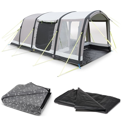 Kampa Dometic Hayling 4 Classic Air Pro Tent Package 2020  - Click to view a larger image