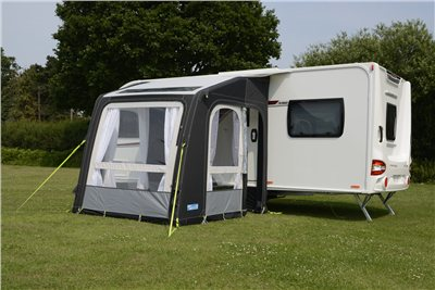 Kampa Rally AIR Pro 200 Caravan Awning 2019  - Click to view a larger image