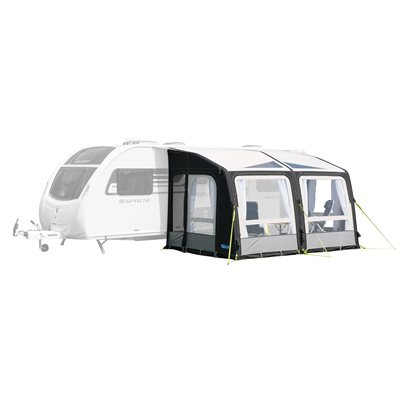 Kampa Rally AIR Pro 390 Caravan Awning 2019  - Click to view a larger image
