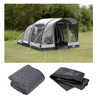 Kampa Brean 4 Classic Air Pro Tent Package 2019  - Click to view a larger image
