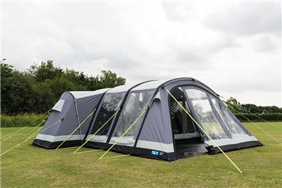 Kampa Bergen 6 Air Pro Tent 2019  - Click to view a larger image