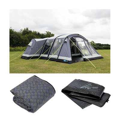 Kampa Bergen 6 Air Pro Tent Package Deal 2019  - Click to view a larger image