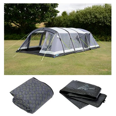 Kampa Croyde 6 Air Pro Tent Package Deal 2018  - Click to view a larger image