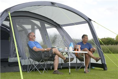 Kampa Croyde 6 Air Pro Canopy 2018  - Click to view a larger image