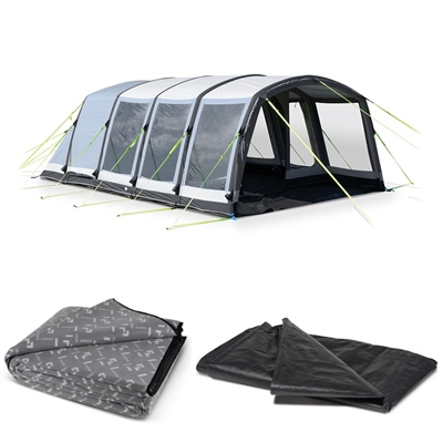 Kampa - Hayling 6 Air Pro Tent Package Deal 2018