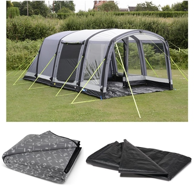 Kampa Dometic Hayling 4 Air Pro Tent Package Deal 2020  - Click to view a larger image