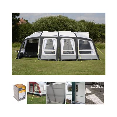 Kampa Frontier Air Pro 300 Caravan Awning Package Deal 2019
