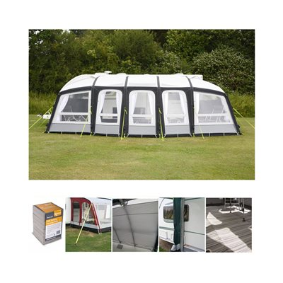 Kampa - Frontier Air Pro 400 Caravan Awning Package Deal 2019