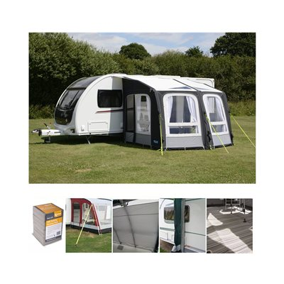 Kampa Ace Air Pro 300 Caravan Awning Package Deal 2020