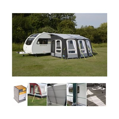Kampa Dometic Ace AIR Pro 400 Caravan Awning Package Deal 2020  - Click to view a larger image