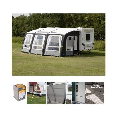 Kampa Dometic Ace Air Pro 500 Caravan Awning Package Deal 2020  - Click to view a larger image