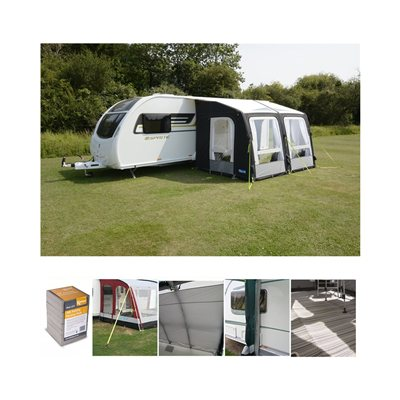 Kampa Dometic Rally AIR Pro 330 Caravan Awning Package Deal 2020  - Click to view a larger image