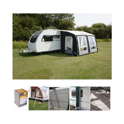 Kampa Rally AIR Pro 330 Caravan Awning Package Deal 2019