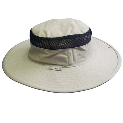 White Rock Outback Hat With Mesh - Sand  - Click to view a larger image