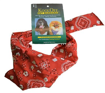 White Rock Kool Off Pet Bandana