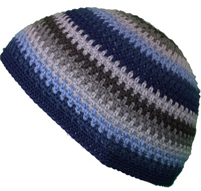 White Rock Knitted Stripe Beanie Hats