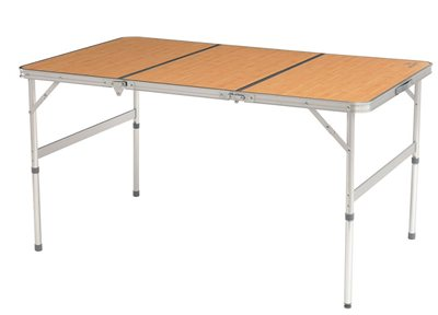 Easy Camp Marle Bamboo Picnic Table  - Click to view a larger image