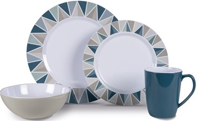 Kampa Apex Heritage Dinner Set 2019  - Click to view a larger image