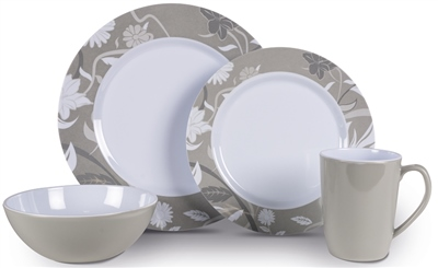Kampa Bloom Heritage Dinner Set   - Click to view a larger image
