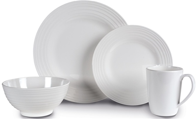 Kampa Blanco Contemporary Dinner Set 2019  - Click to view a larger image