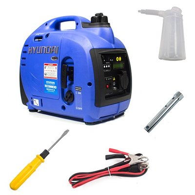 Hyundai 1000W Portable Petrol Inverter Generator   - Click to view a larger image