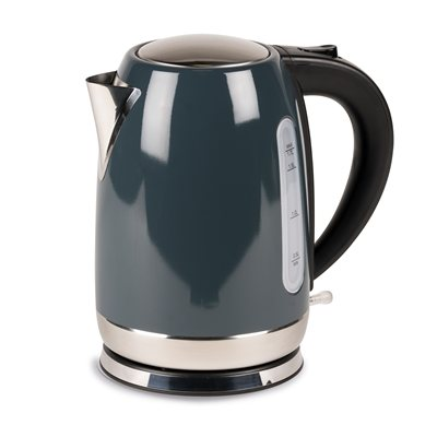 Kampa - Stainless Steel Grey Electric Kettle 2018