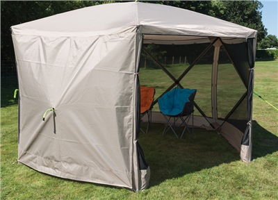 64f071278e2 Kampa Hex 350 Pop Up Screen House Side Panel - Click to view a larger image