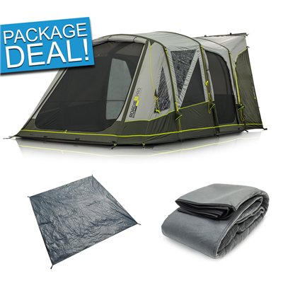 Zempire Roadie 6 PRO Air Drive Away Awning Package Deal 2019  - Click to view a larger image