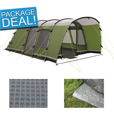 Outwell Flagstaff 5 Tent Package Deal