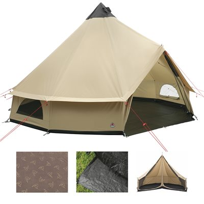 Robens Klondike Grande Tipi Tent Package Deal 2019  - Click to view a larger image