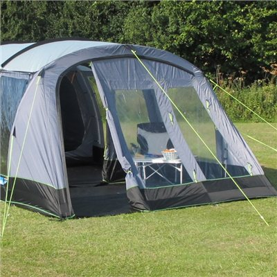 Kampa Hayling 6 Vestibule Poled 2018  - Click to view a larger image