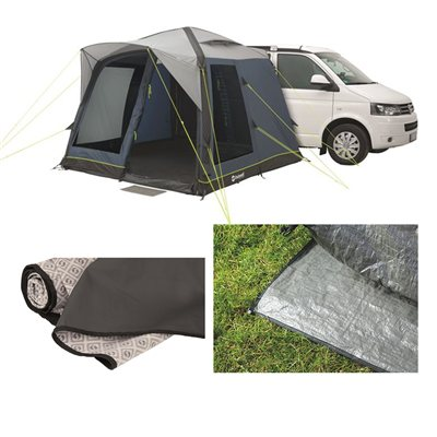 Outwell Milestone Pace Air Awning Package Deal 2018  - Click to view a larger image