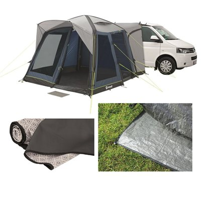 Outwell Milestone Pro Air Awning Package Deal 2018  - Click to view a larger image