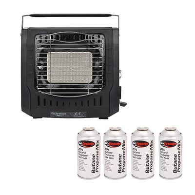Go System Dynasty Heater & Gas Package Deal   - Click to view a larger image