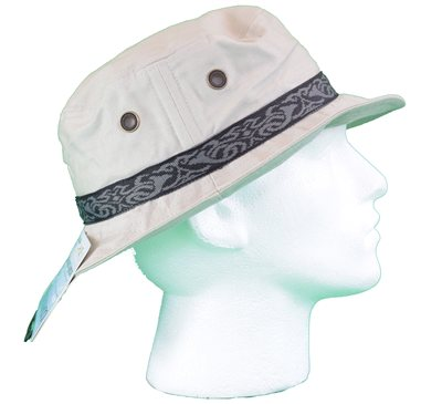 White Rock - Oasis Design Band Hat Stone