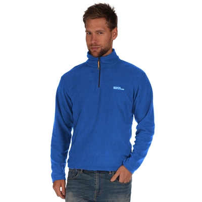 Regatta Thompson Mens Fleece Oxford Blue   - Click to view a larger image