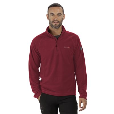 Regatta Montes Mens Fleece Pepper 2018  - Click to view a larger image